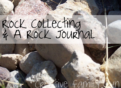 Rock Collecting & A Rock Journal