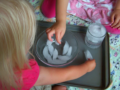 Beat the heat and have some fun with these simple ice play activities for toddlers and preschoolers. You'll learn some simple science and have some fun.