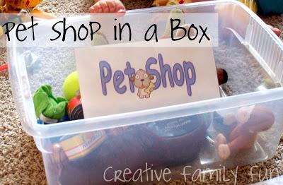 Pet Shop in a Box