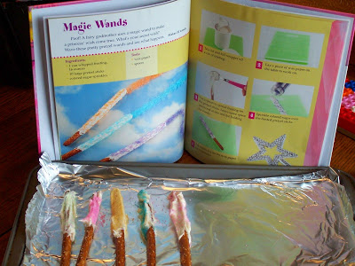 Making Princess Wands