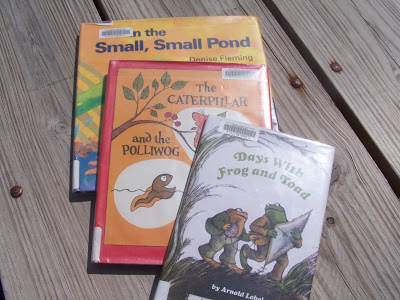 Story Time: Books About Pond Life