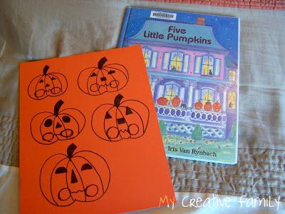 Five Little Pumpkins…