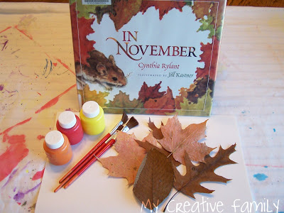 In November: Book and Craft