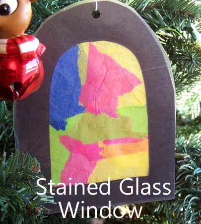 Stained Glass Window Ornaments