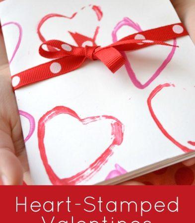 Heart-Stamped Valentines