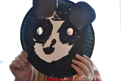Panda Bear Masks