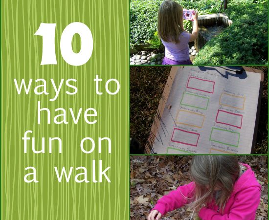 10 Ways To Make a Walk More Fun