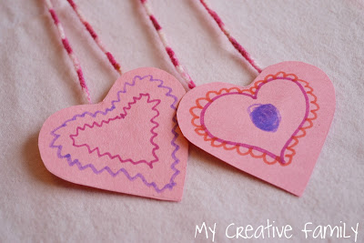 Two Last Minute Valentine Crafts