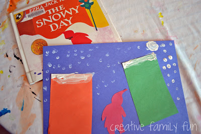 The Snowy Day Book and Craft