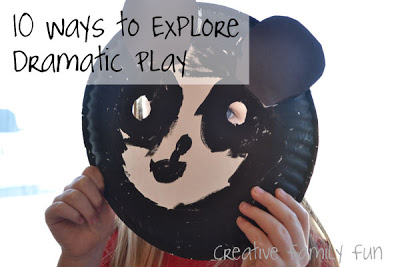 10 Ways to Explore Dramatic Play