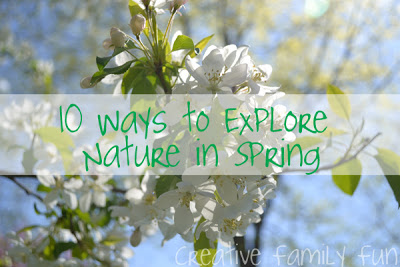 10 Ways to Explore Nature in Spring