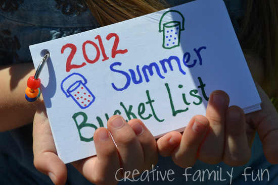Summer Bucket List: Our 2012 List
