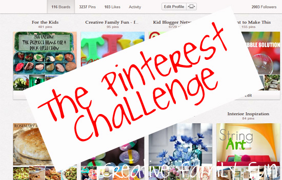 Weekends: The Pinterest Challenge