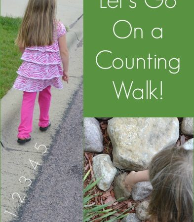 Go Outside: Counting Walk
