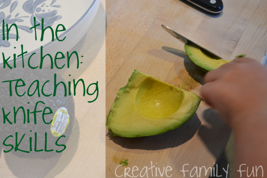 In the Kitchen: Knife Skills for Kids