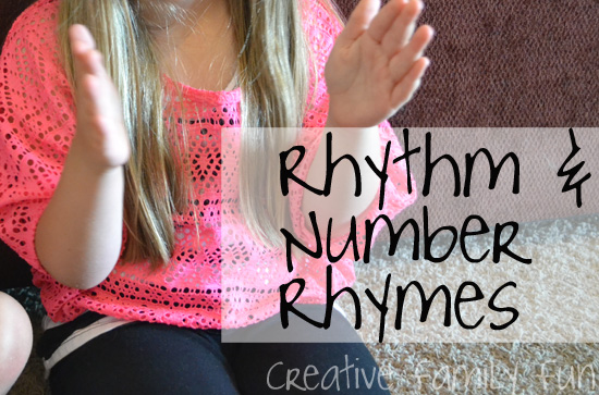 Rhythm and Number Rhymes
