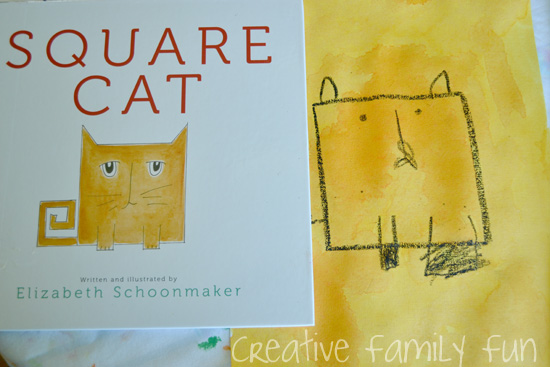 Books = Fun: Square Cat