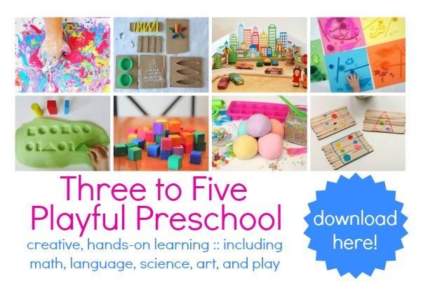 http://www.creativefamilyfun.net/2014/05/three-to-five-playful-preschool.html