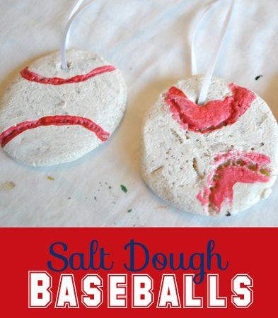 Get Crafty: Salt Dough Baseballs