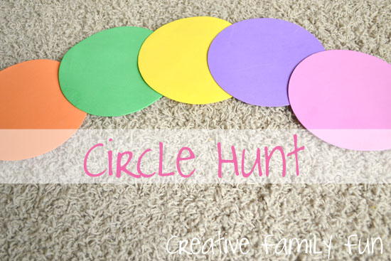 Math Play: Circle Hunt