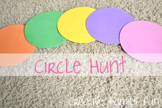 Math Play: Circle Hunt