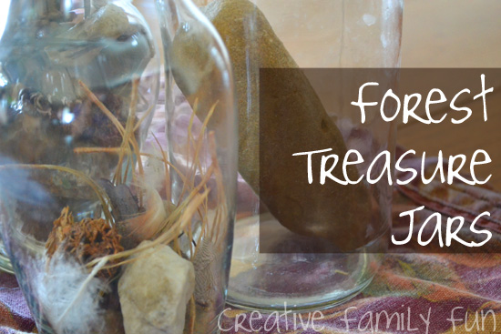 Explore Nature: Forest Treasure Jars
