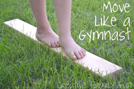 Bloggers Go Olympics: Move Like a Gymnast