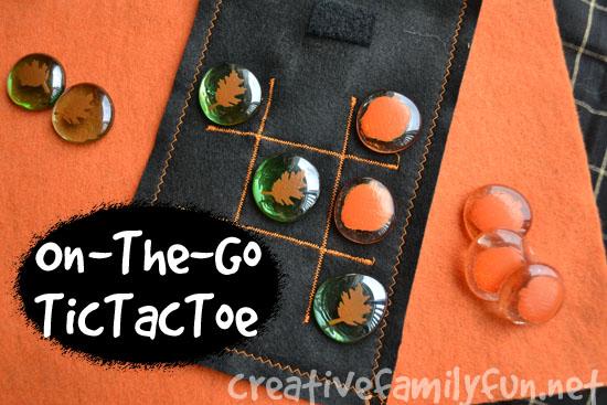 On-The-Go Tic Tac Toe