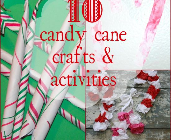 10 Candy Cane Crafts & Activities