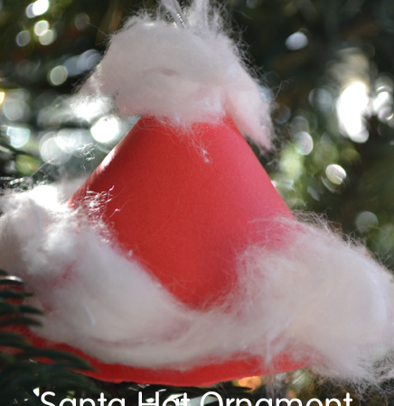 Santa Hat Ornaments
