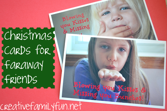 Christmas Cards for Faraway Family & Friends