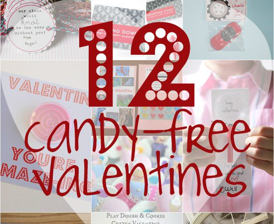 12 Candy-Free Valentines