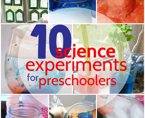 10 Science Experiments for Preschoolers
