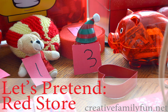 Let's Pretend: Red Store