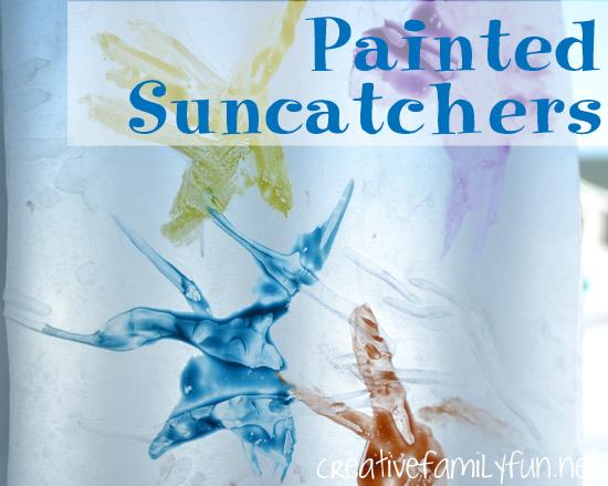 Painted Suncatchers