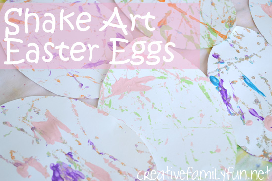 Shake Art Easter Eggs