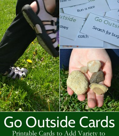 Go Outside! Cards