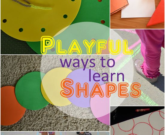 Playful Ways to Learn Shapes