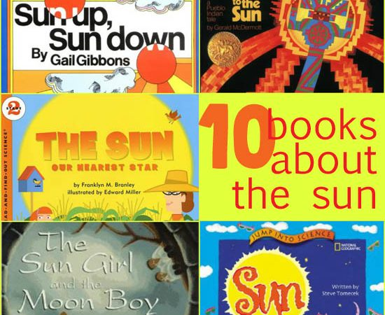 Storytime: 10 Books About the Sun