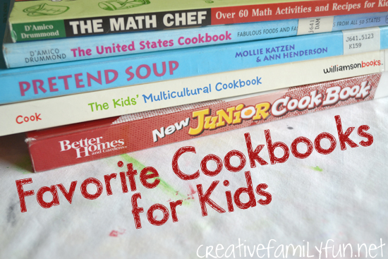 Favorite Cookbooks for Kids