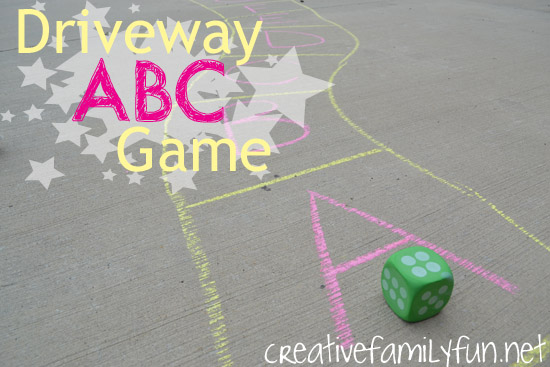 Driveway ABC Game