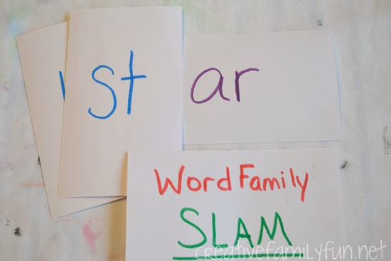 Word Family Slam