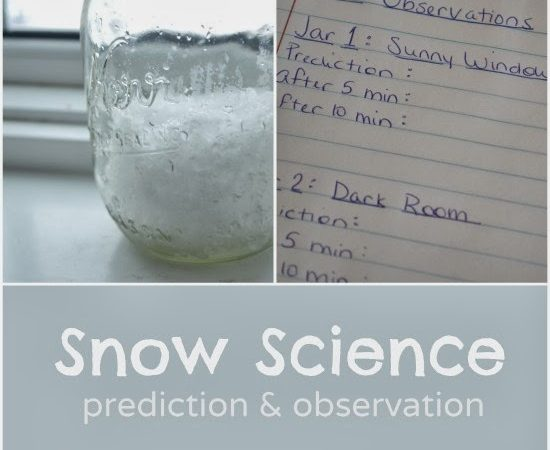 Snow Science: Prediction and Observation