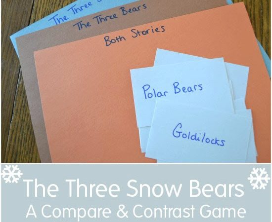 The Three Snow Bears: A Compare and Contrast Game