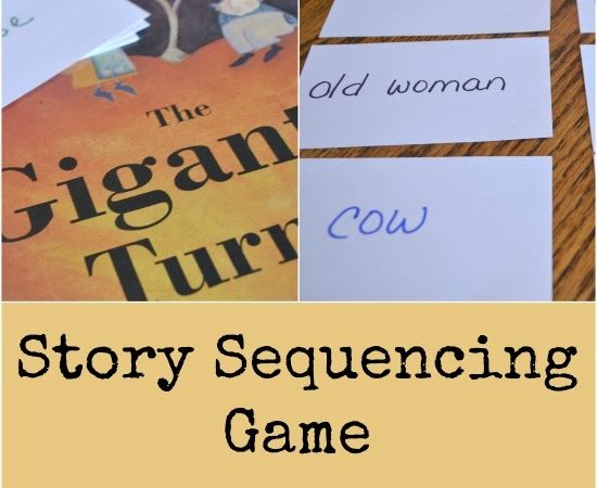 Story Sequencing Game With the Gigantic Turnip