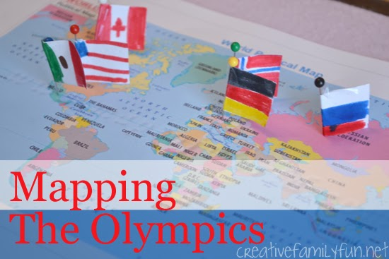 Mapping the Olympics