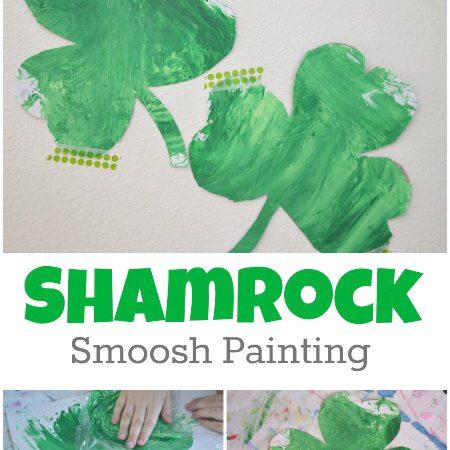 Shamrock Smoosh Painting