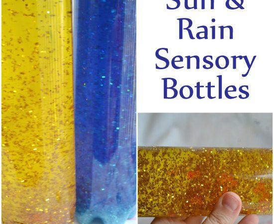 Sun & Rain Sensory Bottles