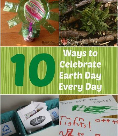 10 Ways to Celebrate Earth Day Every Day