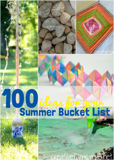 100 Summer Bucket List Ideas